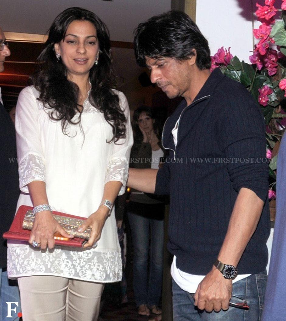 Juhi Chawla with Shah Rukh Khan. Sachin Gokhale/Firstpost