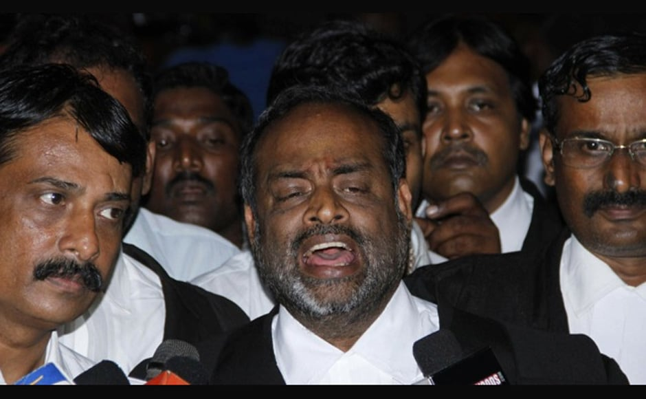 Kamal Hassan's  lawyer PS Raman after yesterday's Madras High Court verdict. Firstpost