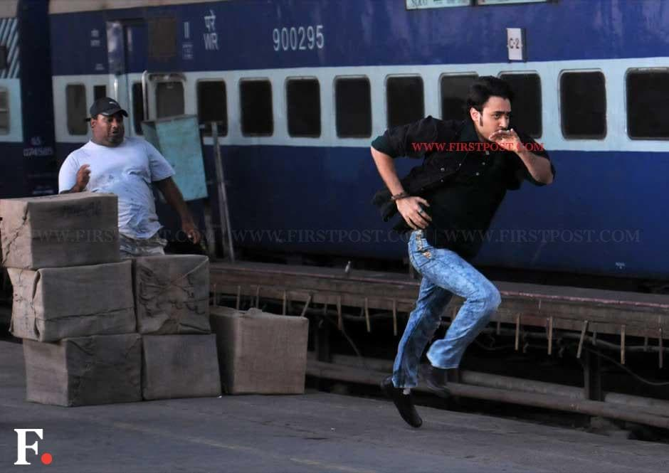 Imran Khan while shooting the action sequence. Sachin Gokhale/Firstpost