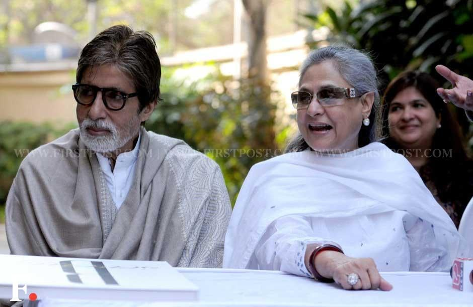 Amitabh Bachchan and wife Jaya at the event. Sachin Gokhale/ Firstpost