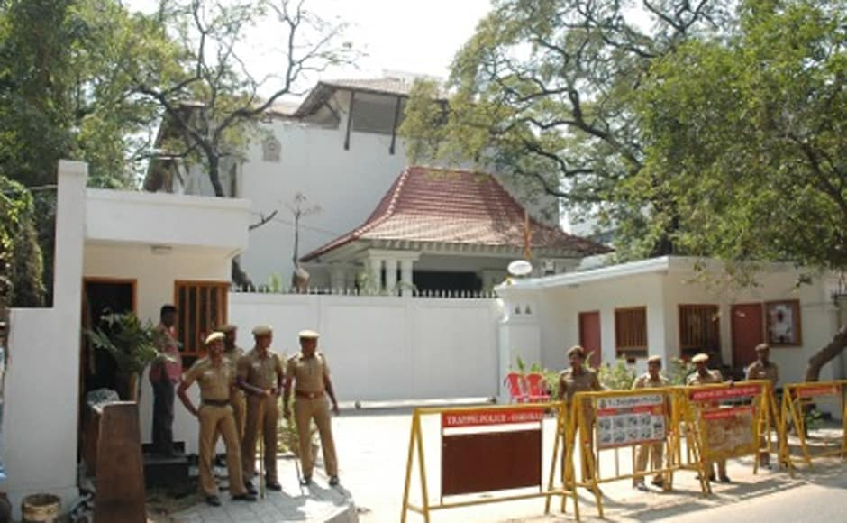 Security tightened at the Sri Lankan Deputy High Commissioner's office in Chennai. Firstpost