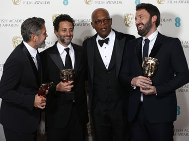 The Argo team at the BAFTA awards. Reuters