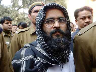 Afzal was buried inside the Tihar jail soon after his hanging. AFP