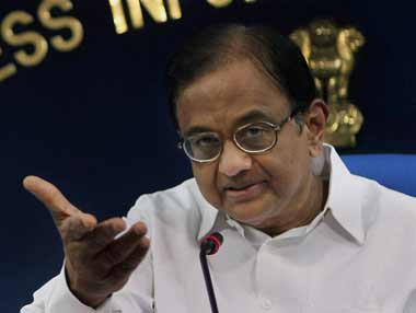 Signs of hope: Chidambaram believes that the economy can grow faster. PTI