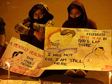 File photo of protests against the Delhi gangrape case. PTI