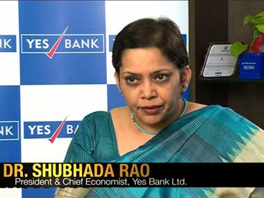 She said divestment has been used to bridge the fiscal gap, when in doubt. But expenditure management was more important in the Indian context