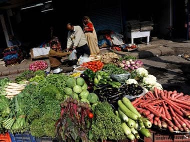 While WPI inflation coming down is a good sign from the point of view of monetary policy, we need to get our act together to bring down food prices. AFP