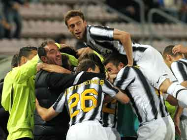 Juventus have recovered well from the scandal. AP