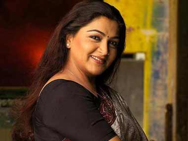 The actress was attacked for her statements on the DMK's next leader. Reuters