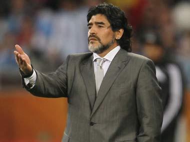 File image of Diego Maradona. AP