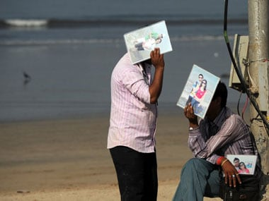 Mumbai may face warm weather for the next few days. AFP