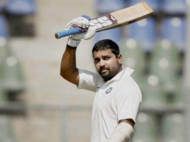 Murali Vijay made his case with a century. PTI