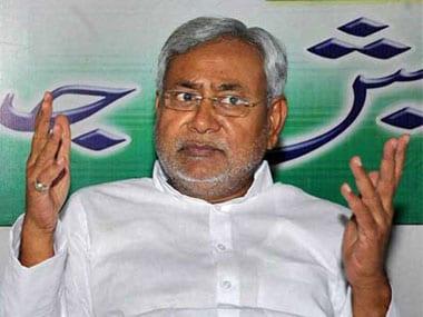 Nitish Kumar. PTI.