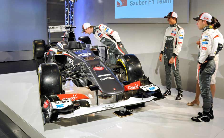 The Sauber F1 team unveiled their new Sauber C32, and are optimistic for the upcoming campaign. Getty Images