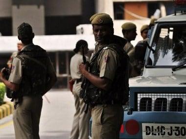 Representational image of Delhi police: AFP