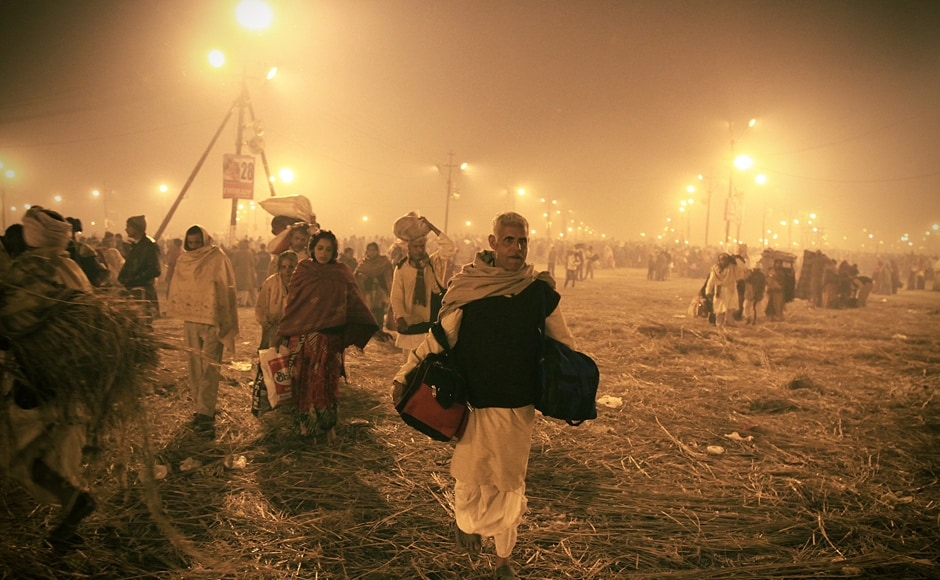 One of the world's oldest religious festivals, it's about millions hypnotised by faith who walk for days to brave sub zero temperatures. Trilok Sengupta