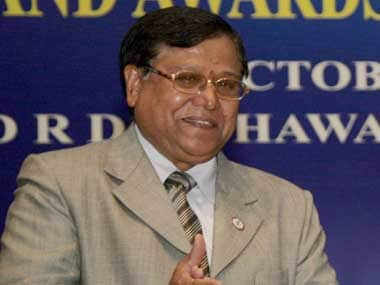 DRDO chief VK Saraswat. Image courtesy PIB