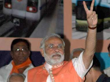 Will 2014 be a year of victory for Modi? PTI