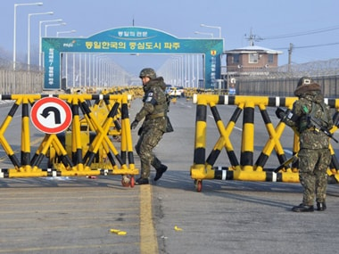 Tension between the North and South Korea is more than half a century old. AFP
