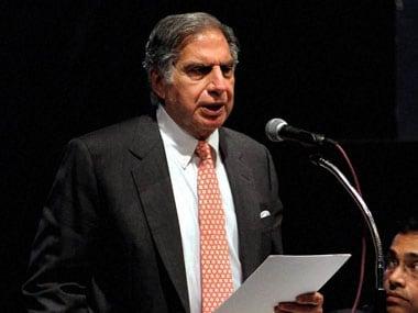 Ratan Tata. PTI