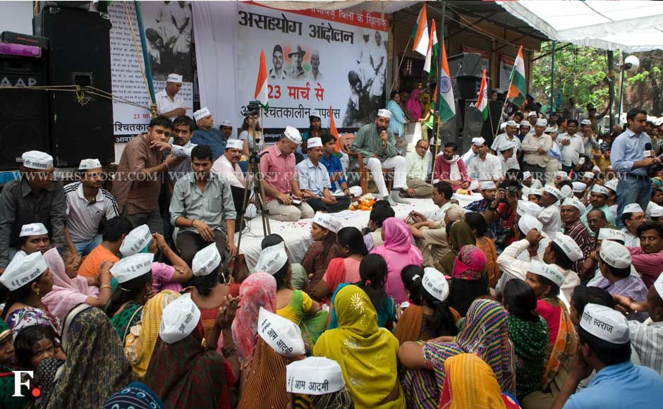 Crowds in rapt attention at the fast venue. Naresh Sharma/Firstpost