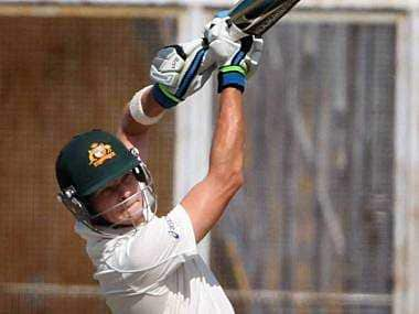Steve Smith was in fine form for the Aussies. PTI