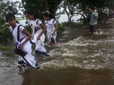Flood and erosion continue to affect Assam. Reuters