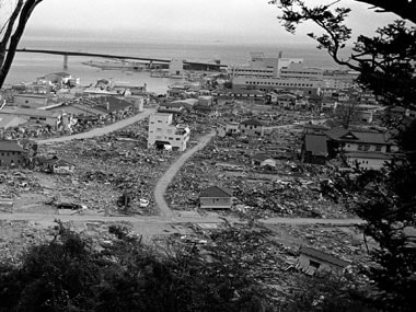 Fukushima after the tsunami: AP