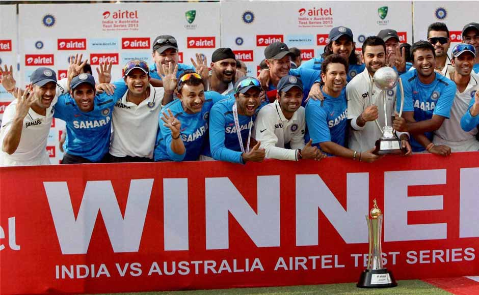 India completed a historic 4-0 clean sweep against Australia, winning the Delhi Test by an impressive six-wicket margin. PTI