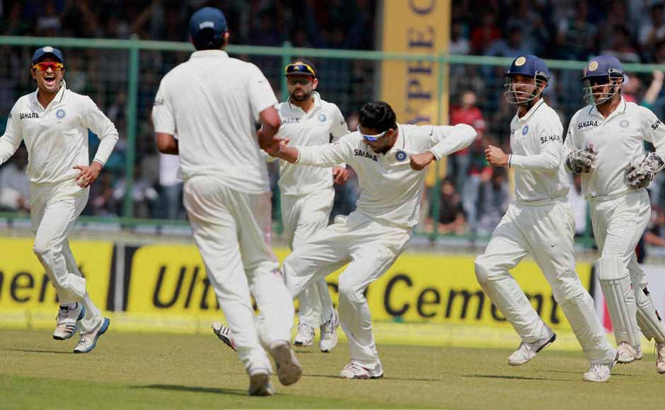 Australia failed miserably against India's spinners, and Jadeja was their primary tormentor at Kotla. PTI