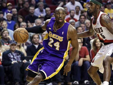 Kobe Bryant bid farewell to the NBA with a game for the ages. AP