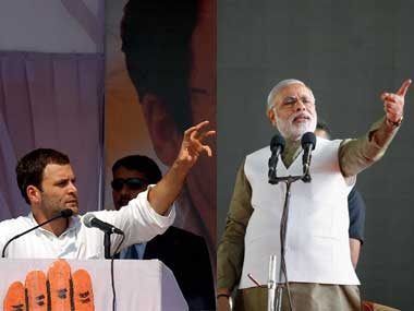 The debate between Rahul Gandhi and Modi is a pointless one for now. Image: Agencies