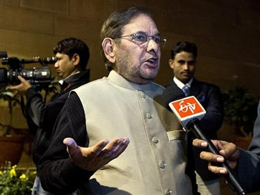 File image of Sharad Yadav. AFP