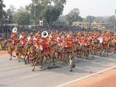 A BSF contingent. Image courtesy PIB