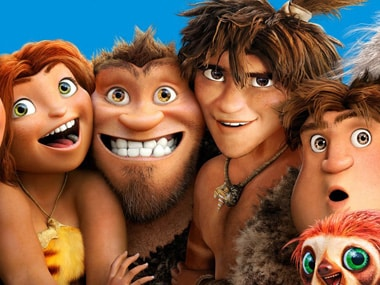 Oh yes! The Croods is a family film.  Courtesy: Facebook