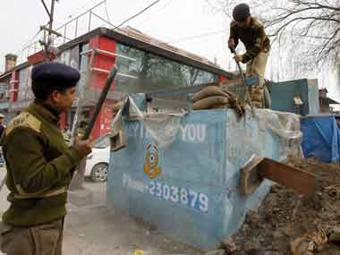 CRPF officer under scanner in Jammu and Kashmir. Reuters