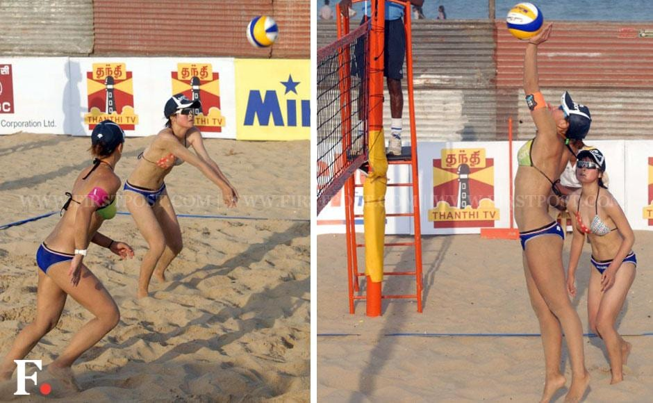 Images: Asia Oceania beach volleyball championship in Chennai