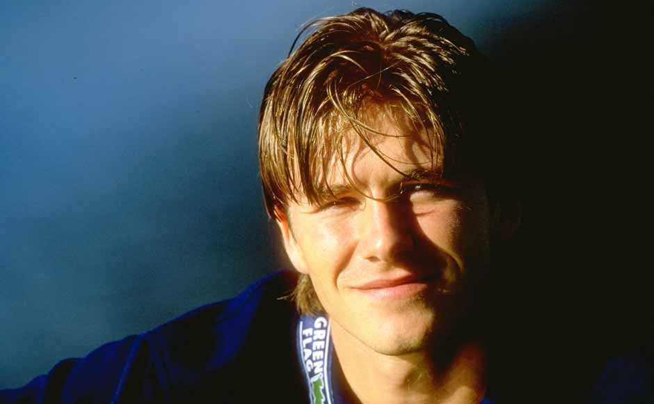 Images: Beckham and his hairstyles that became legend