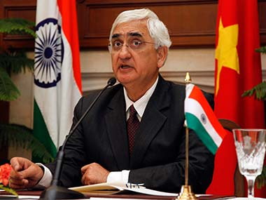 The external affairs minister has said negotiations were the only solution to such incidents. Reuters