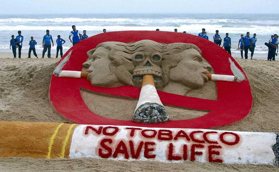 Images: The world says no to tobacco today