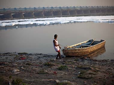 Representational Image of the Yamuna. Reuters