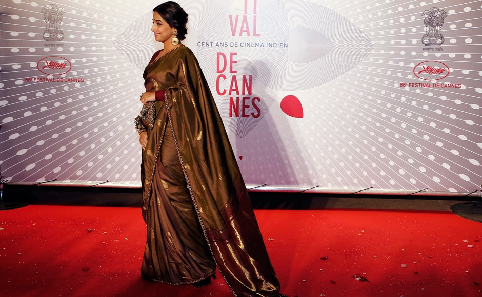 Images:  The Indian contingent at Cannes Film Festival's red carpet