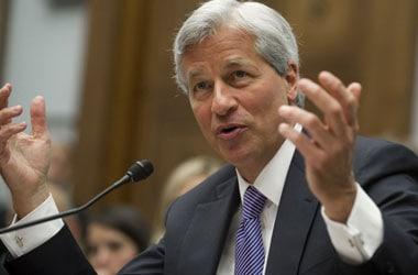 Jamie Dimon, chairman, JP Morgan - AFP