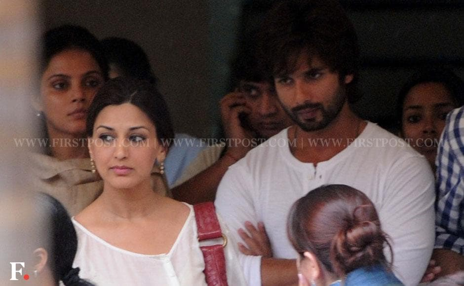 Sonali Bendre and Shahid Kapoor. Sachin Gokhale/ Firstpost