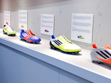 Adidas sets new soccer sales goal in