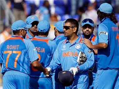 Dhoni, like Ganguly, is building his own Team India. AP