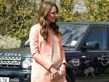 The Duchess of Cambridge Kate Middleton voted top fashion icon