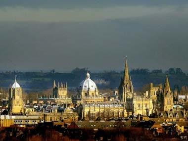 Oxford university: Reuters