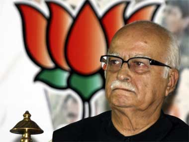 BJP veteran LK Advani. Reuters