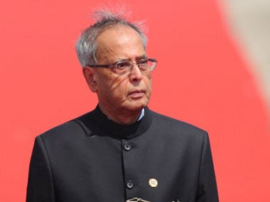 Pranab Mukherjee. AFP